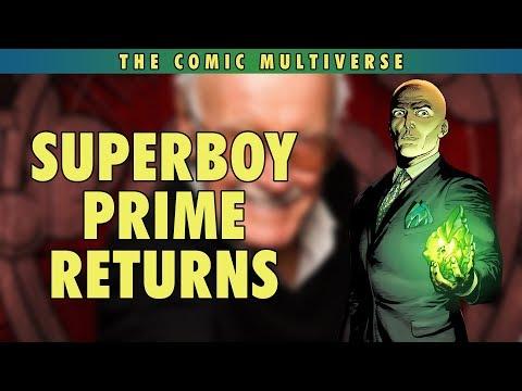 Superboy Prime Returns?   The Comic Multiverse Ep.123
