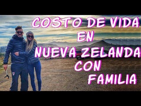 NUEVA ZELANDA COSTO DE VIDA CON FAMILIA// GASTOS GENERALES En Dunedin