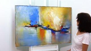 Pintura em Tela - Pintura em Telas Recicladas - Tela 3