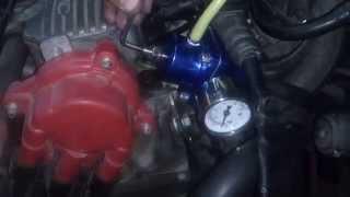 Регулятор давления топлива с манометром