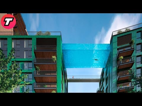 The 5 Most Incredible Suspended Swimming Pools