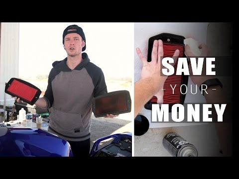 K&N vs OEM stock Air filter for Motorcycles