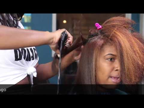 Watch Me Werk: Silk Press On Tightly Coiled Natural Hair