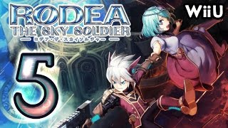Rodea the Sky Soldier Walkthrough Part 5 (WiiU) Chapter 5 ~ English ~~ Boss 1