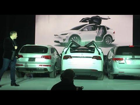 Tesla Demonstrates Model