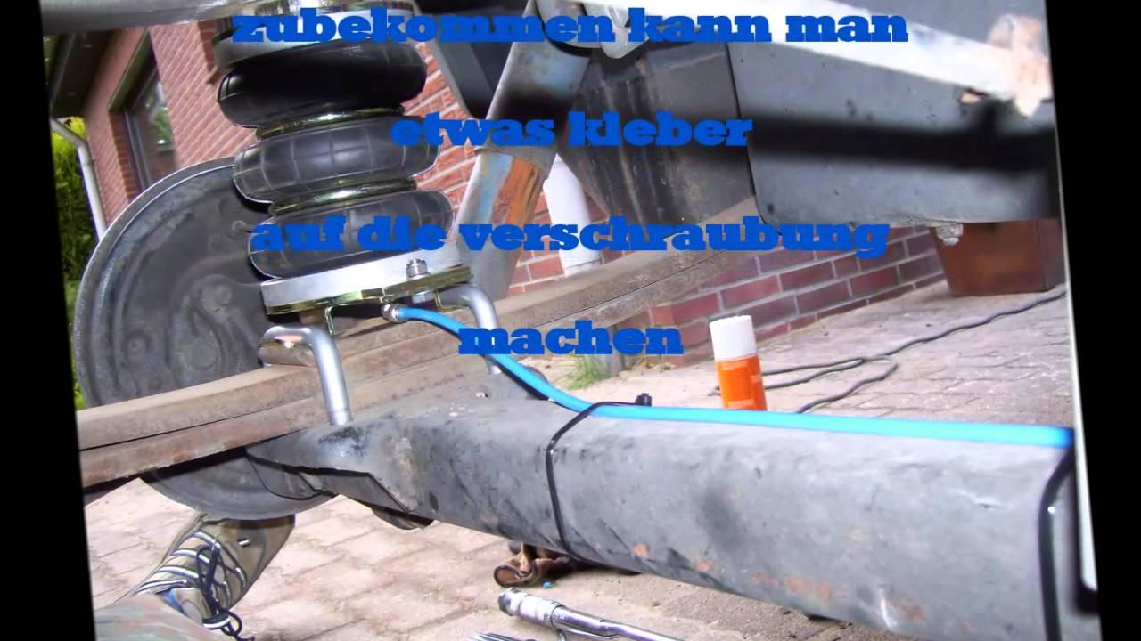 Luftfederung fiat ducato 250 wohnmobil