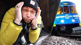 EXPERIMENT | Överleva tåget nere på spåret