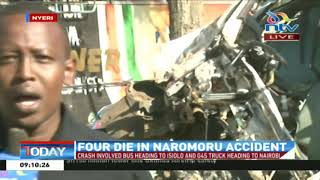 Four die in an accident at Naromoru