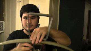 How to Make a 100 Pound PVC Crossbow Part 11 - Finishing
