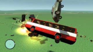 [Mods][GTA:IV] - Crazy Bus (IKARUS)