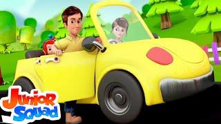 Driving Down The Road | Nursery Rhymes & kids Songs For Babies
