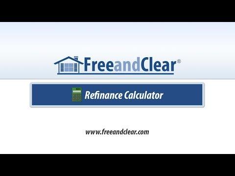 Mortgage Refinance Calculator Video