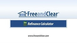Mortgage Refinance Calculator Video