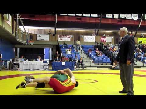 CIS Championships 2012: 90 kg Rob Rubino vs. John Lendvoy