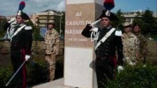 Omaggio ai carabinieri di Nassirya