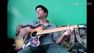Gambar cover Abhi mujhme kahin song covered by guitar