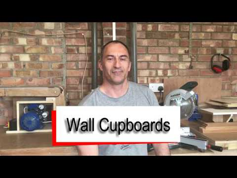 Wall Cupboards - How to Build - Free Sketchup Plan