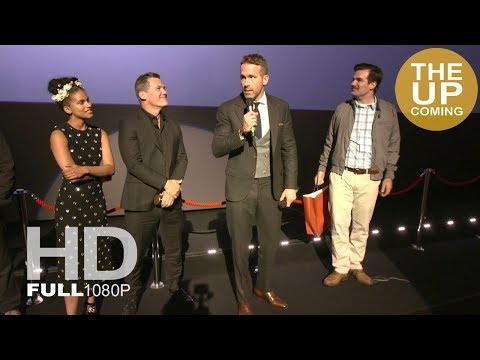 Deadpool 2 UK fan screening highlights with Ryan Reynolds, Josh Brolin, Zazie Beetz