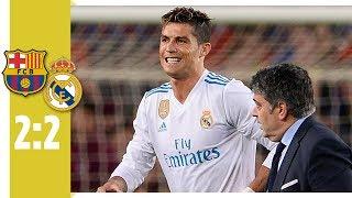 Ronaldo verletzt sich bei Clásico-Tor | FC Barcelona - Real Madrid 2:2
