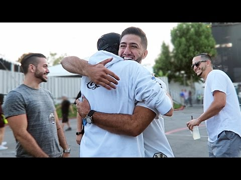 LOGIC SURPRISES MY BROTHERS IN LA | ALEX COSTA