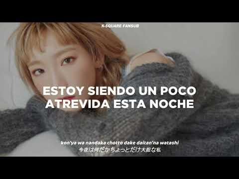 Taeyeon I Do Sub Español  Kanji  Roma Hd