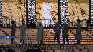 Русские песни под пальмами