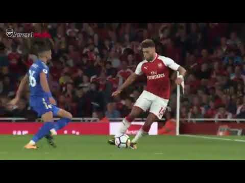 Arsenal vs Leicester City 4-3 - Highlights & Goals