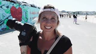 SWIMWEAR SHOOT WITH STEPH CLAIRE SMITH FOR BONDI SANDS   Vlog by Bonnie Cee