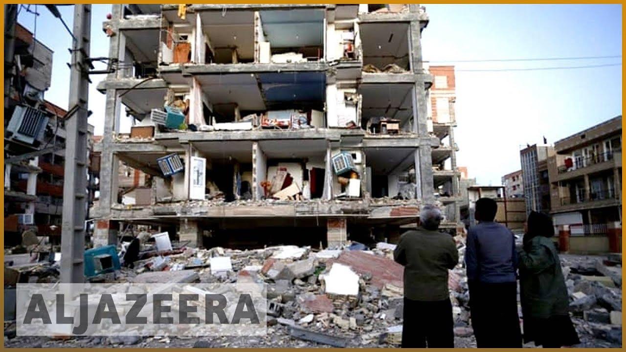 Iran-Iraq earthquake: Desperate search for survivors