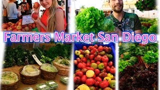 Farmers market, food haul, what do we eat in San Diego