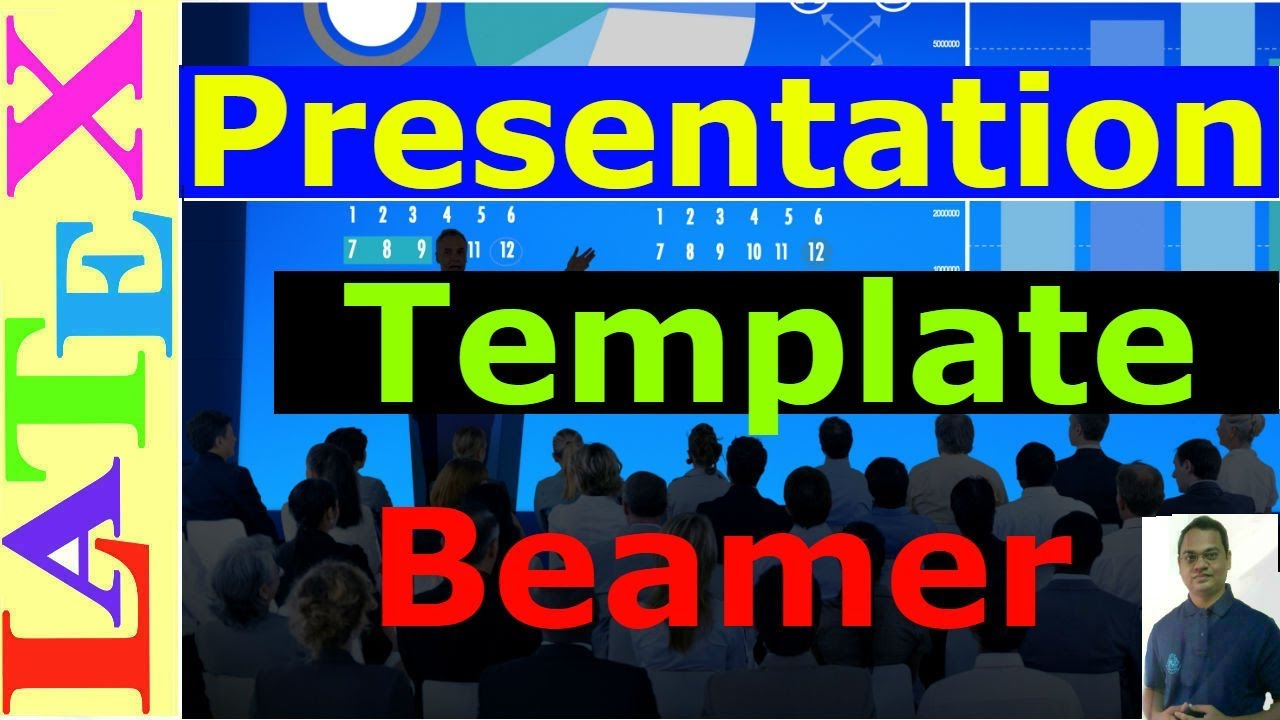 beamer presentation template (latex tutorial) - youtube, Presentation templates