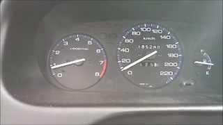 1998 Honda Civic 1.5 Acceleration