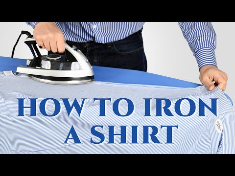 How To Iron Shirts Like A Pro - Easy Step-by-Step Dress Shirt Ironing Guide - Gentlemans Gazette