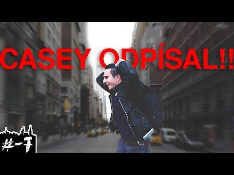 NYC_7 - Casey nám odpísal na Brooklyn Bridge