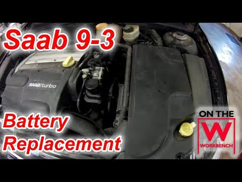 Saab 9-3 Battery Replacement