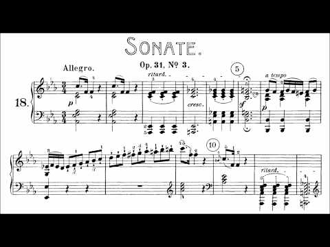 Beethoven: Sonata No.18 in E-flat Major,