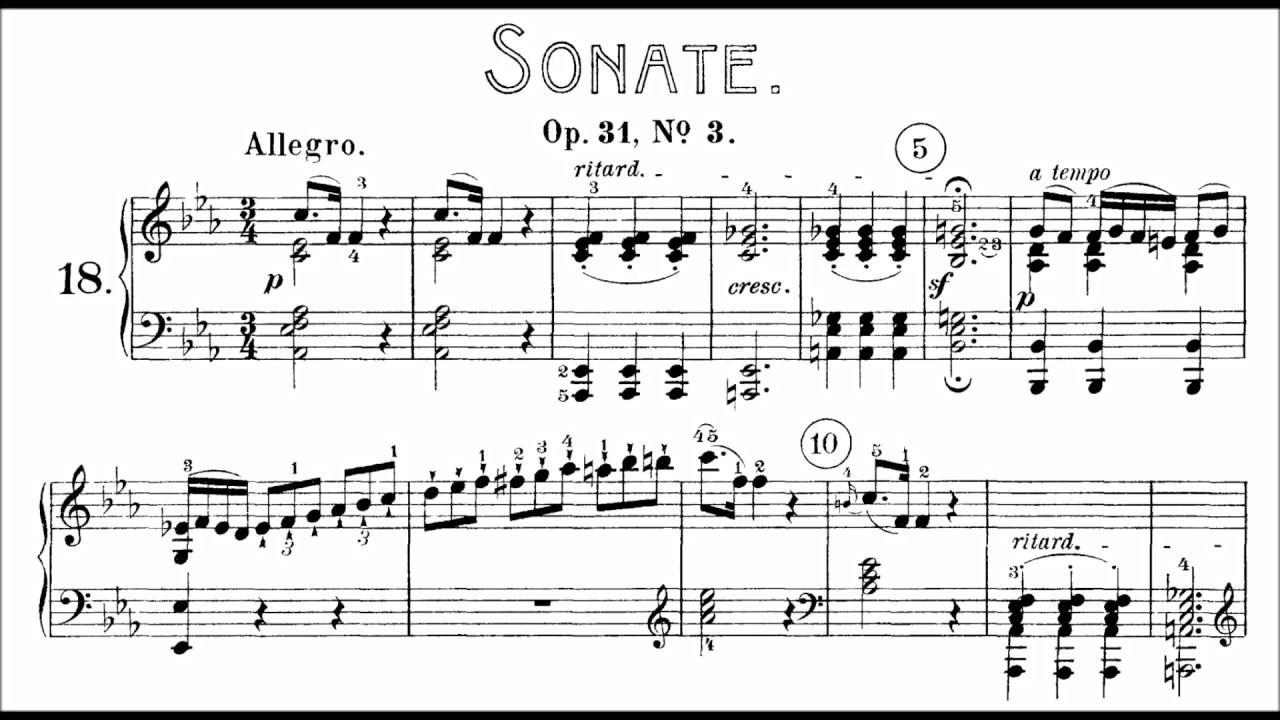 Beethoven Sonata No.20 in E flat Major,