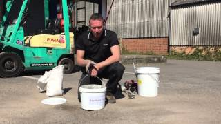 How to repair a pothole using FastPatch 3-2-1