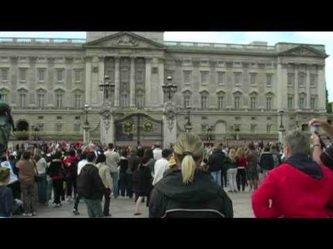 Лондон Букингемский дворец