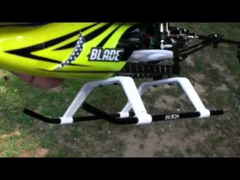 Blade 130x with align trex 250 skids