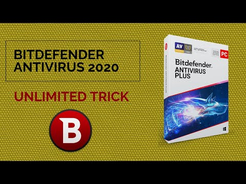 BIT DEFENDER ANTIVIRUS 2020 CRACKED UNLIMITED