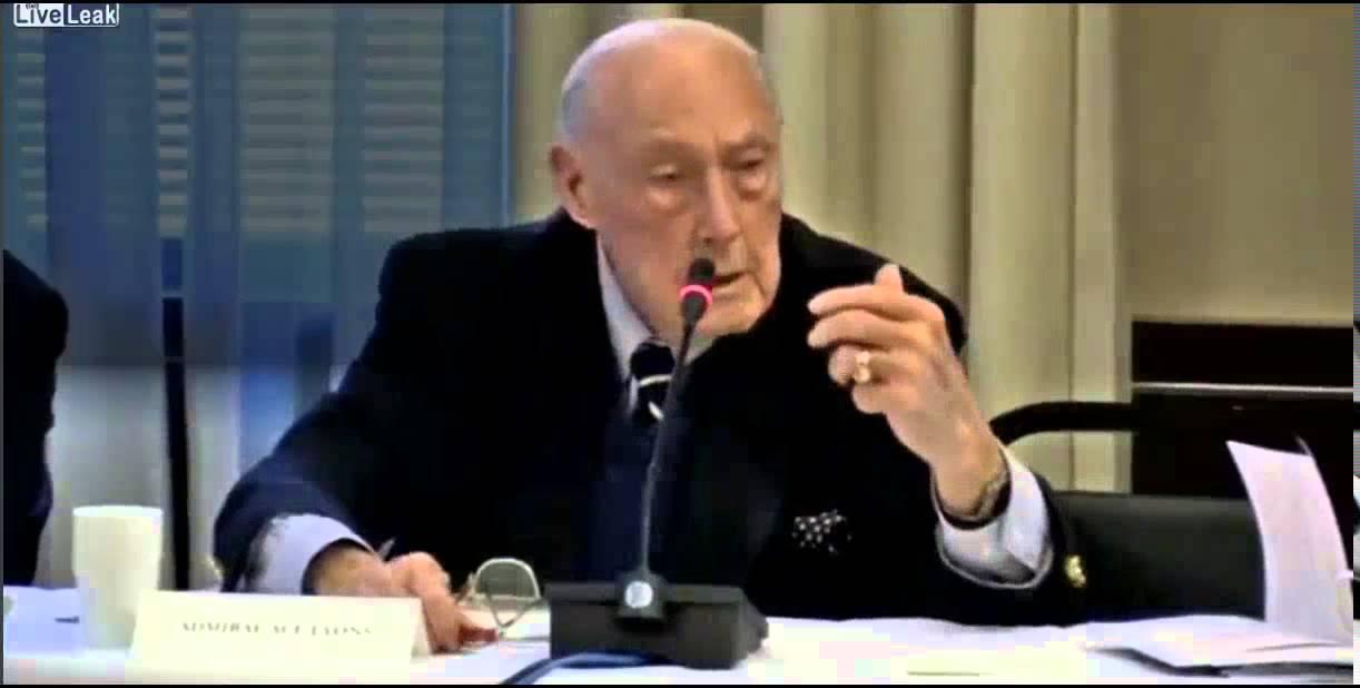 Truth Teller- Retired  US Admiral James Lyons 2/11/2015