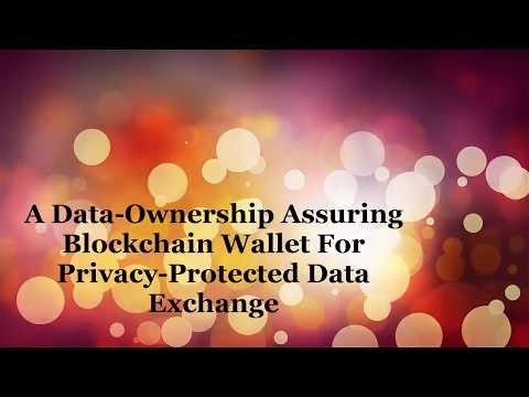 A Data Ownership Assuring Blockchain Wallet For