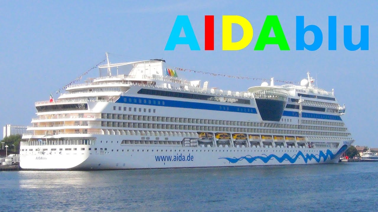 Kreuzfahrtschiff Aida Blu Warnem 252 Nde 2012 Cruise Ships