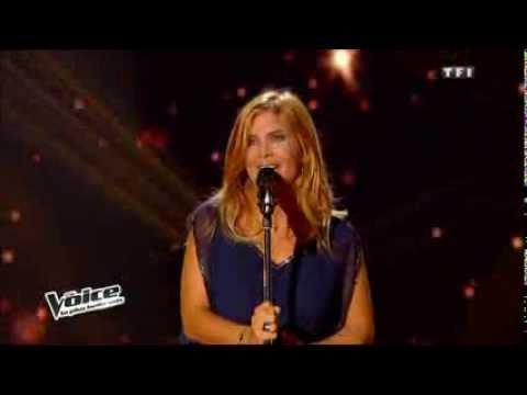 La libanaise Aline Lahoud ألين لحود The Voice en France
