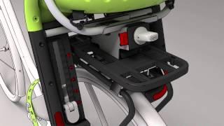 Montage Yepp Maxi Easyfit met Easyfit drager/ Mounting Yepp Maxi with Easyfit carrier