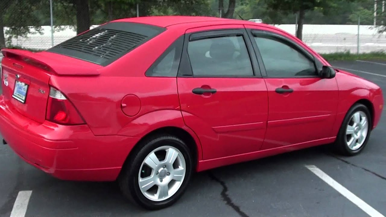 For sale 2005 ford focus zx4 only 54k miles stk p5705a youtube