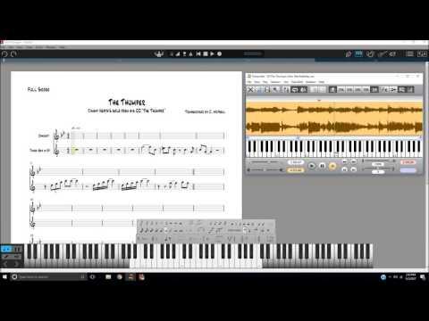 Transcription Lesson-Video 1: Basic Single Note Line Transcribing