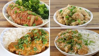 4 Easy Chicken Breast Recipes