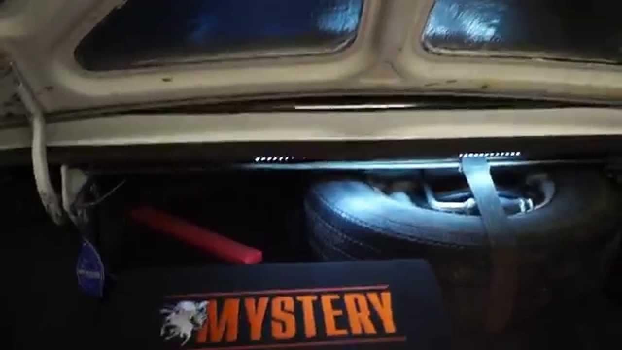 Проклейка багажника ГАЗ-31029 Волга